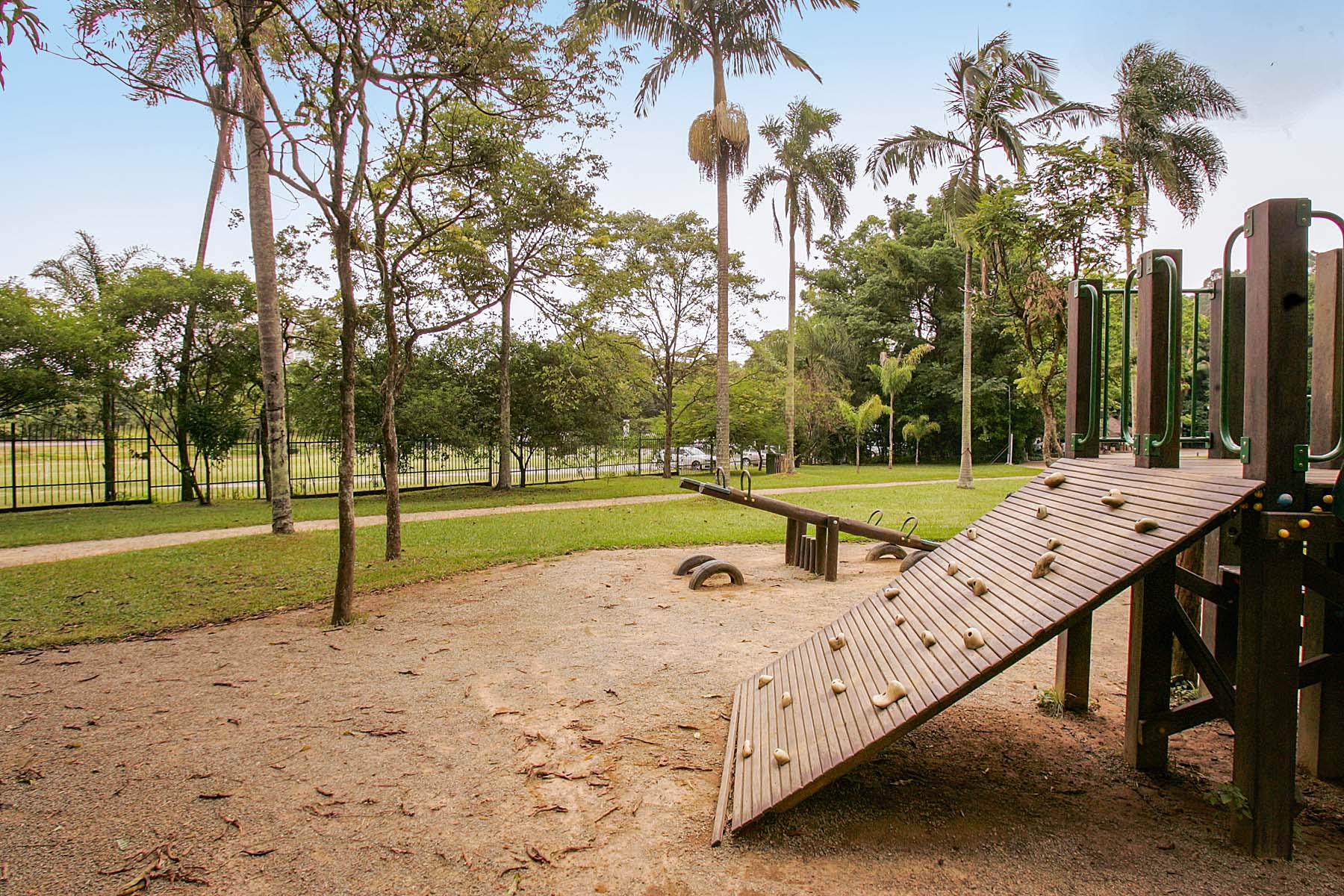 Parque Burle Marx, no bairro Morumbi.